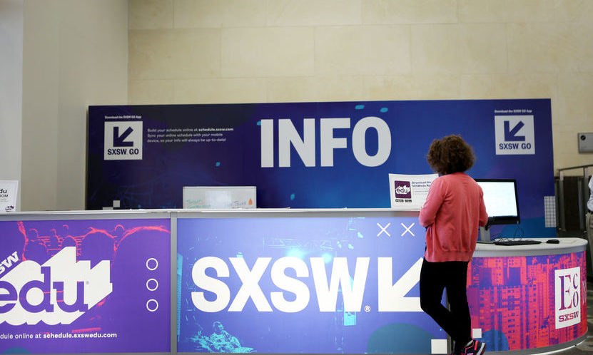 SXSW interactive, info desk, SXSW education, technology, marketing, digital