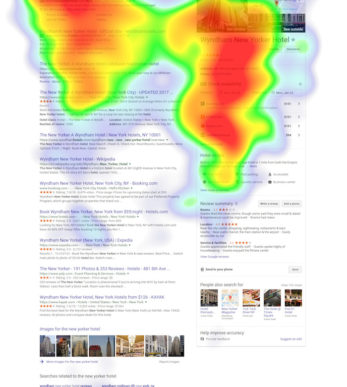 eyetracking; heat mapping; digital marketing; Neil Patel