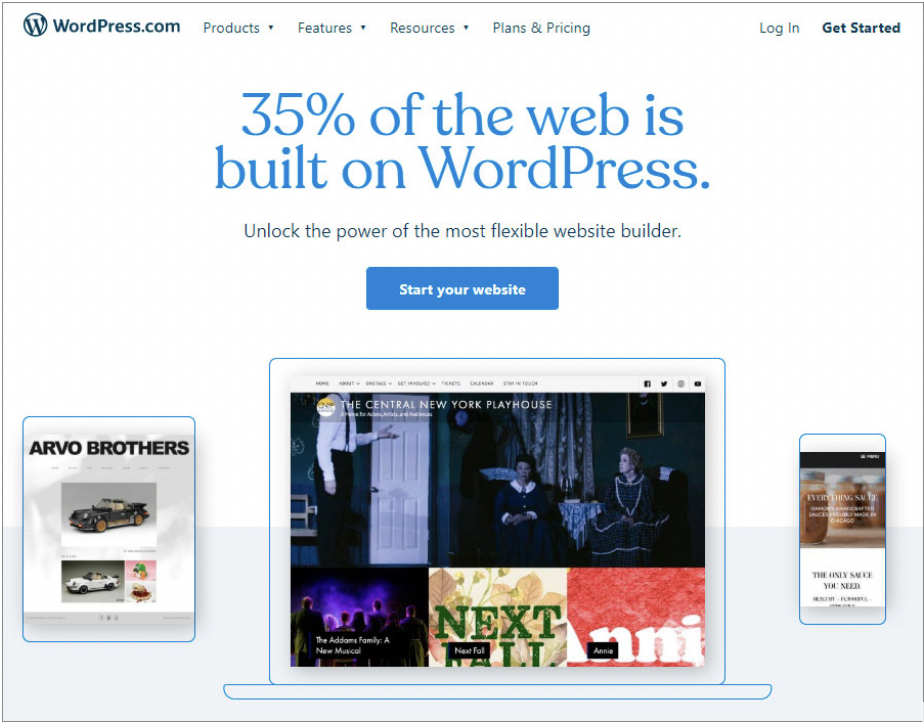 10 Of The Best Free Website Builder Software For 2020 Fahrenheit Marketing